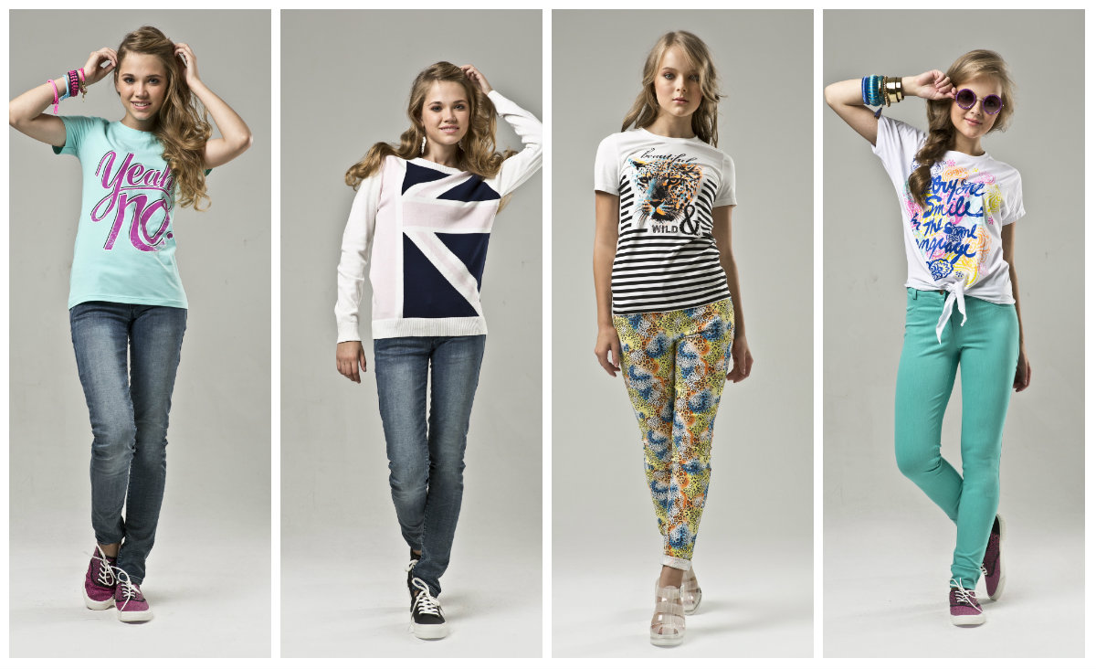 Модная подростковая одежда