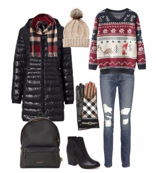 Модные комплекты для зимы