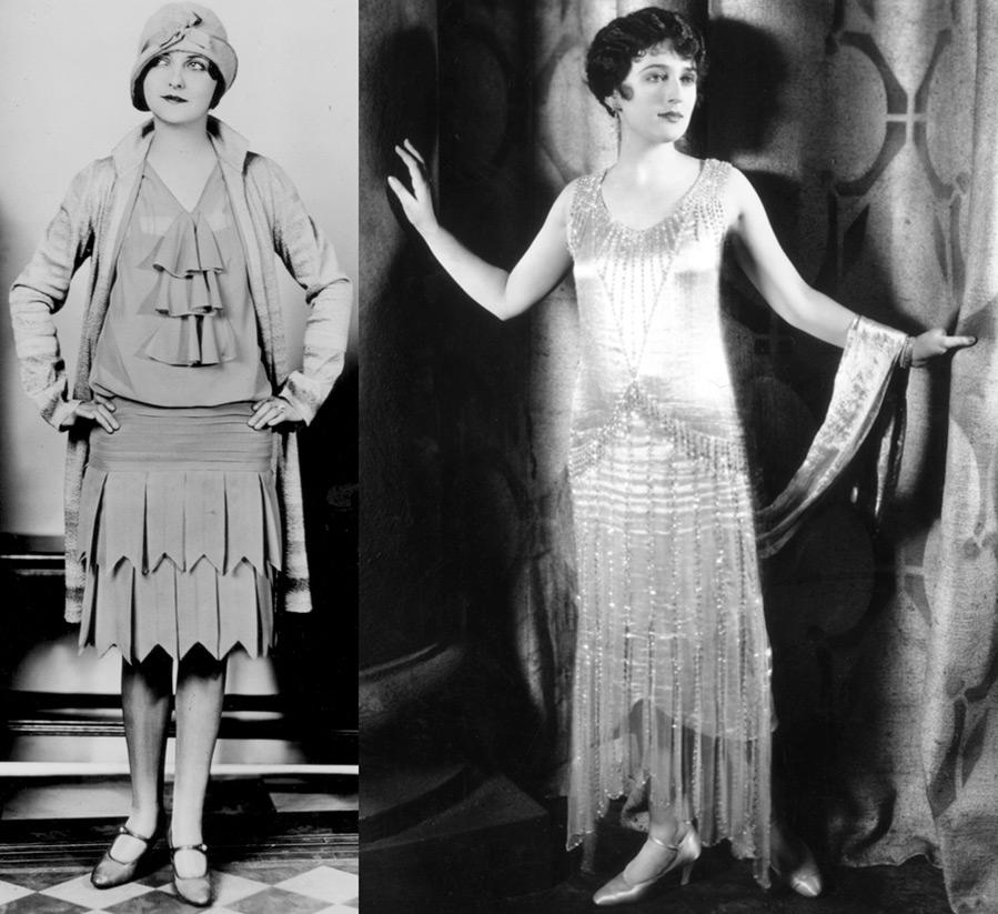 Модные силуэты 1920-х годов
