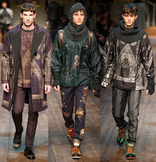 Мужская мода в средневековом стиле