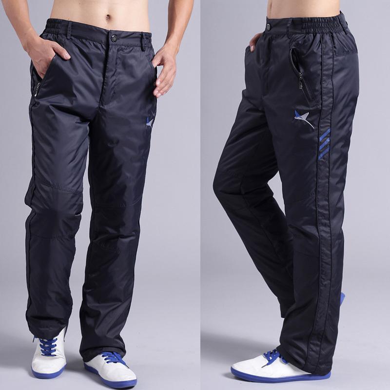 Мужские теплые и утепленные спортивные штаны