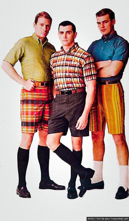 Мужские высокие шорты
