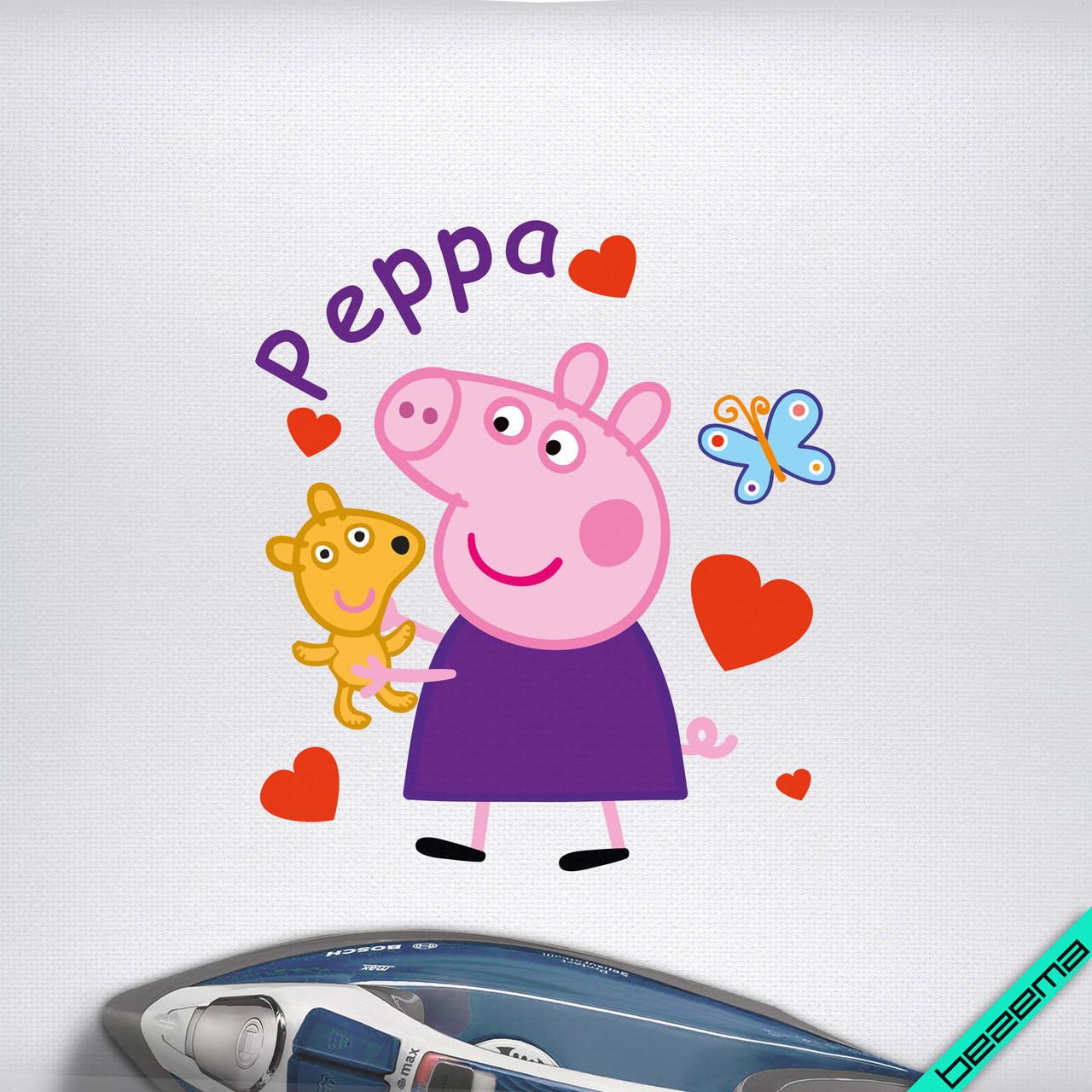 Наклейка Свинка Пепа для ребенка