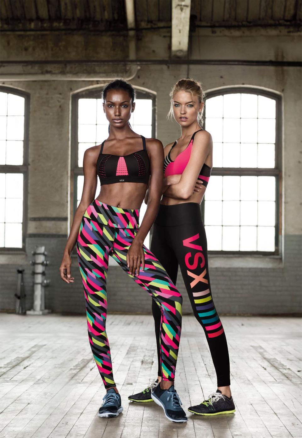 Новая коллекция спортивной одежды для фитнеса