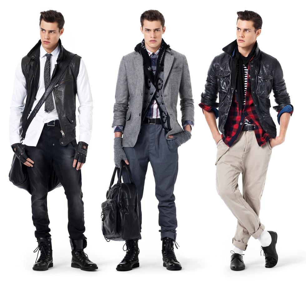 Новинки демисезонной мужской одежды