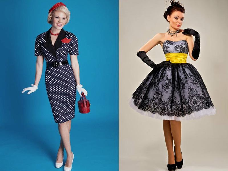 Образцы одежды в стиле стиляг