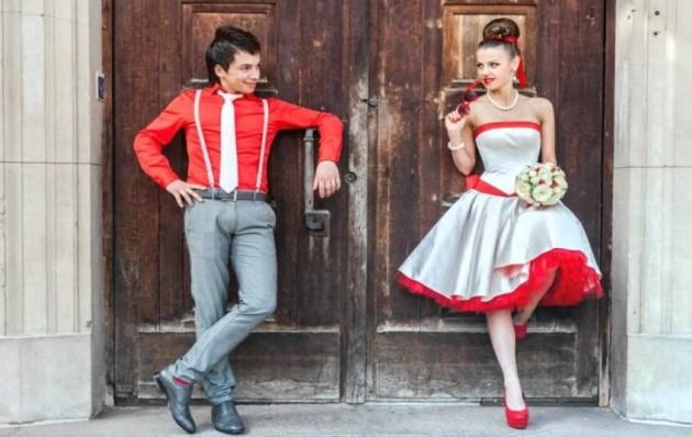 Одежда для свадьбы необычной тематики