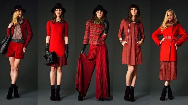 Одежда в красном цвете
