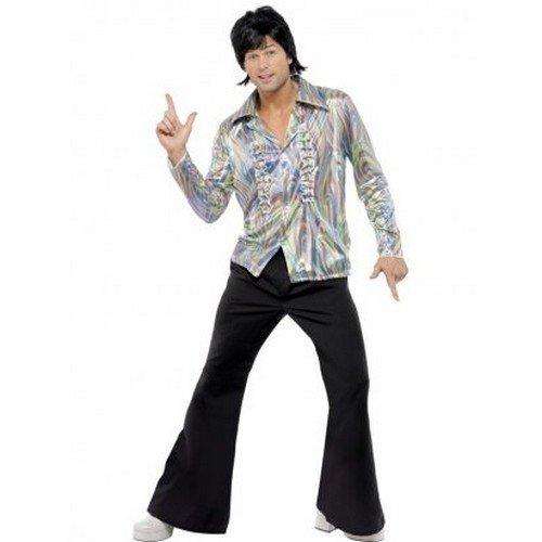 Одежда в стиле диско была яркой, но простой