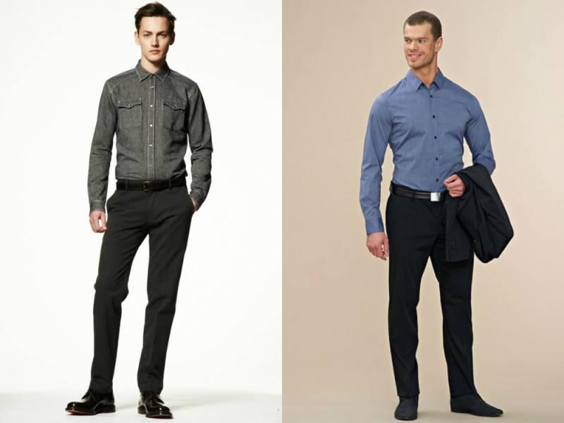 Офисный стиль одежды для успешных мужчин