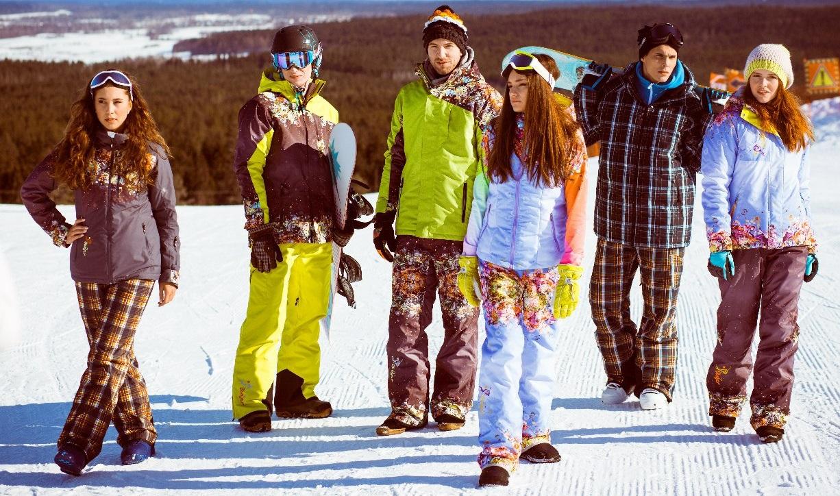 Оригинальные горнолыжные костюмы