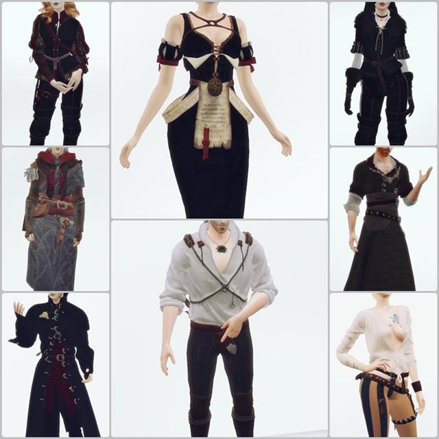 Оригинальные наряды