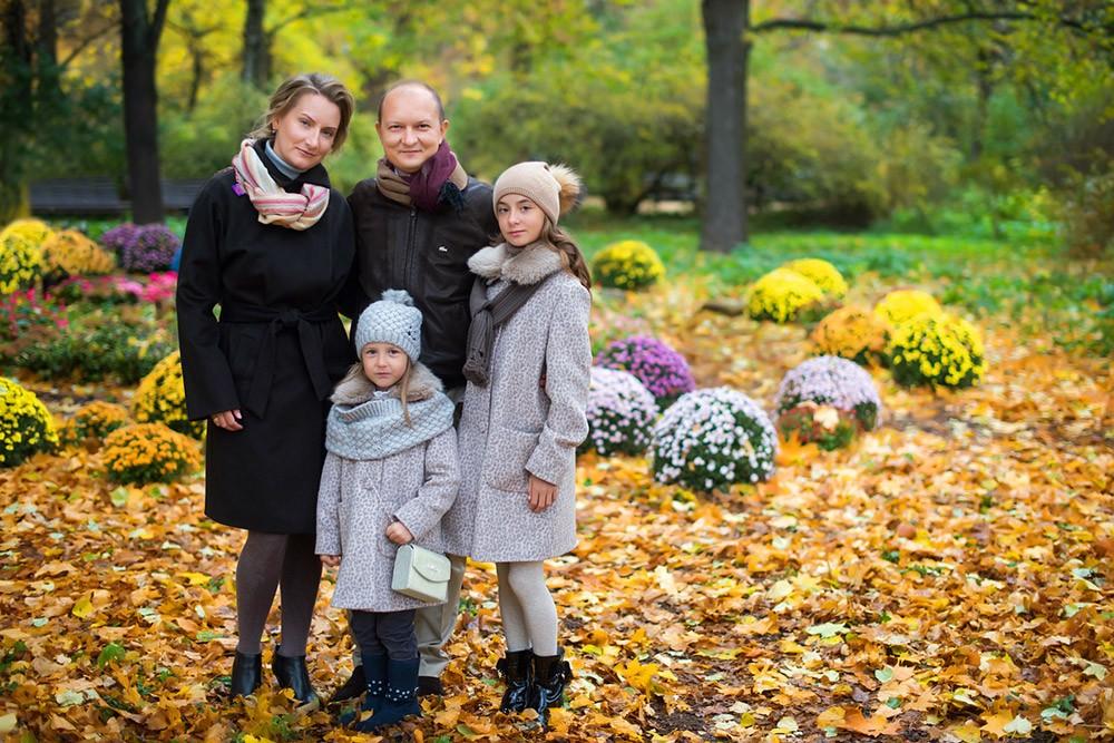 Осенняя фотосессия