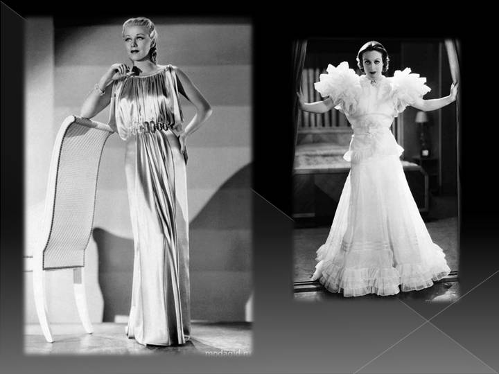 Особенности моды 20х годов