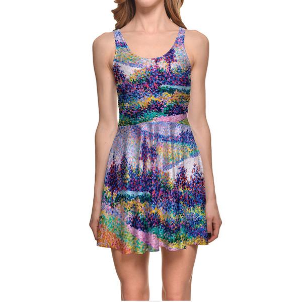 Печать на одежде в ярких тонах
