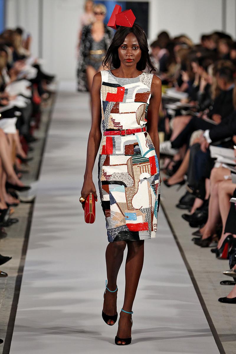 Платье в стиле Авангард
