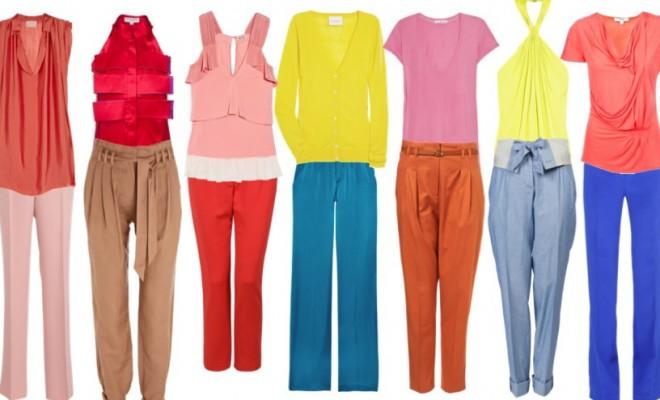 Подобранные комплекты одежды