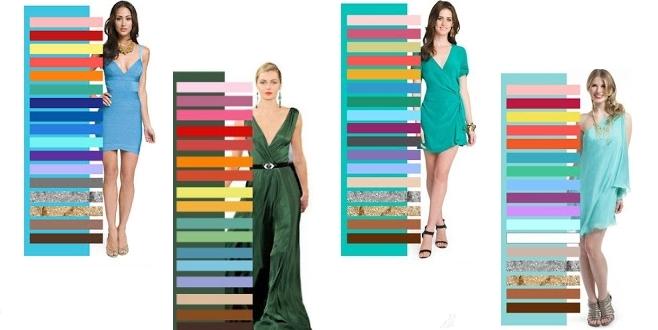 Правила сочетания цвета в одежде