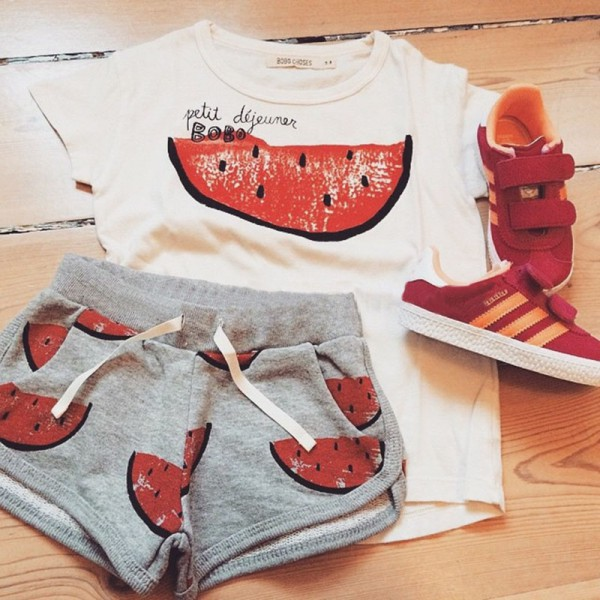 Пример модного детского образа