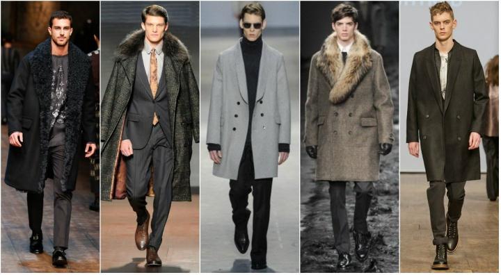 Размеры мужских пальто