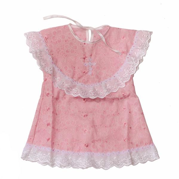 Розовое платье для маленькой девочки