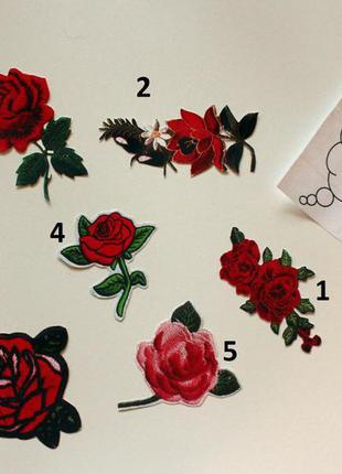 Розы для одежды