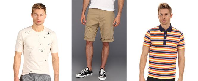 Шорты и футболки с молодежными принтами
