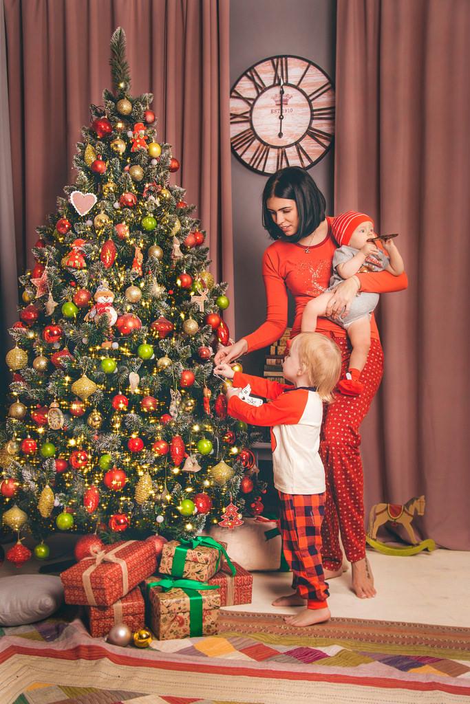 Семья и Новый год