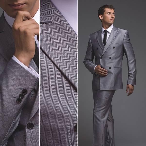 Серые оттенки официальной одежды