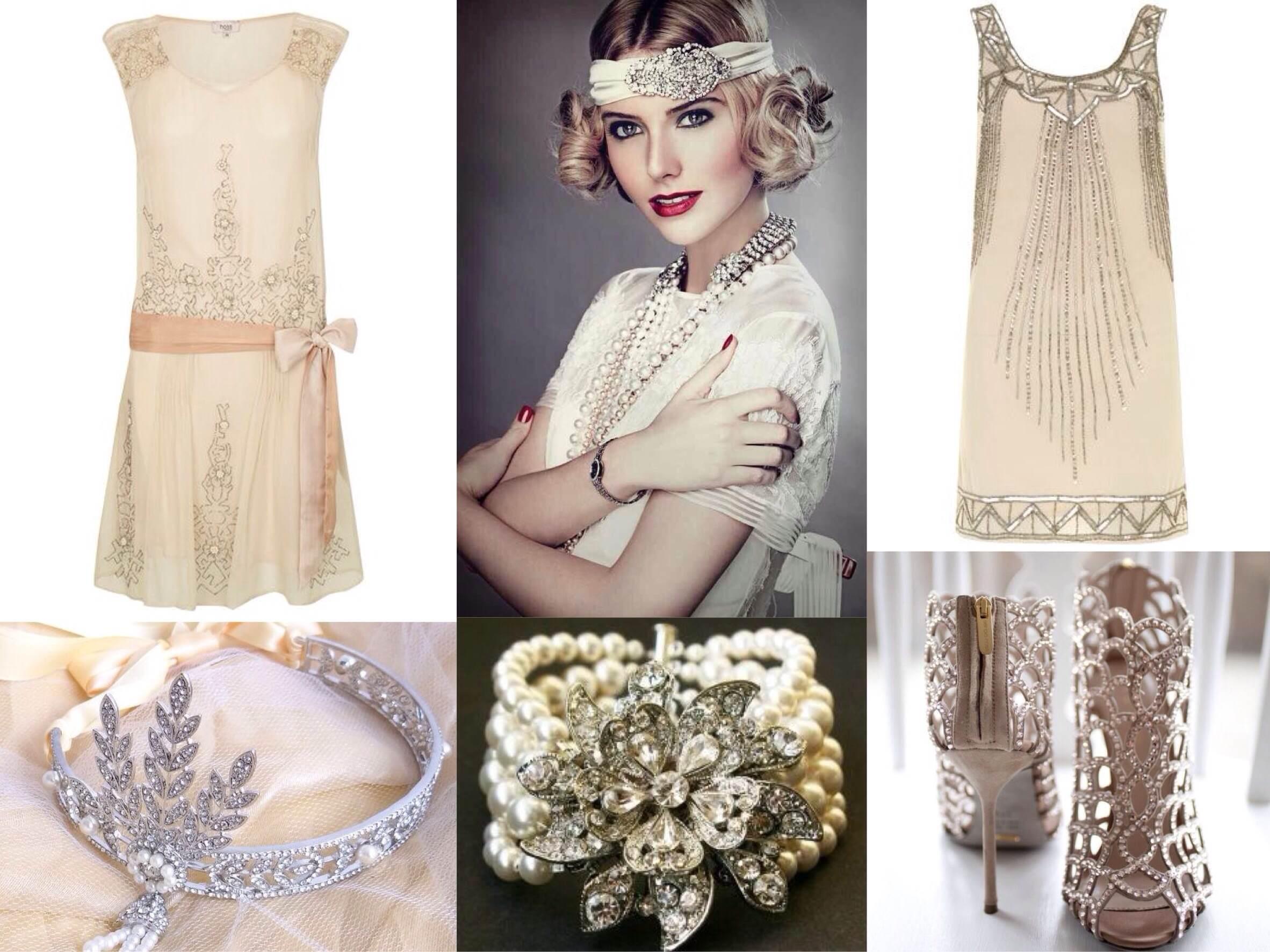 Современная одежда в стиле 20х годов