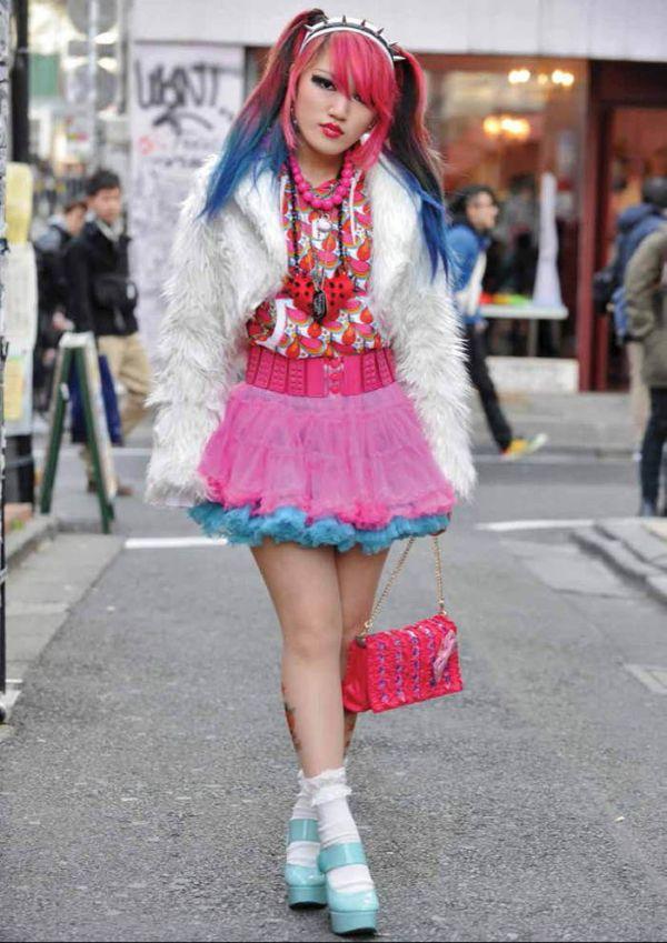 Современная японская молодежная мода