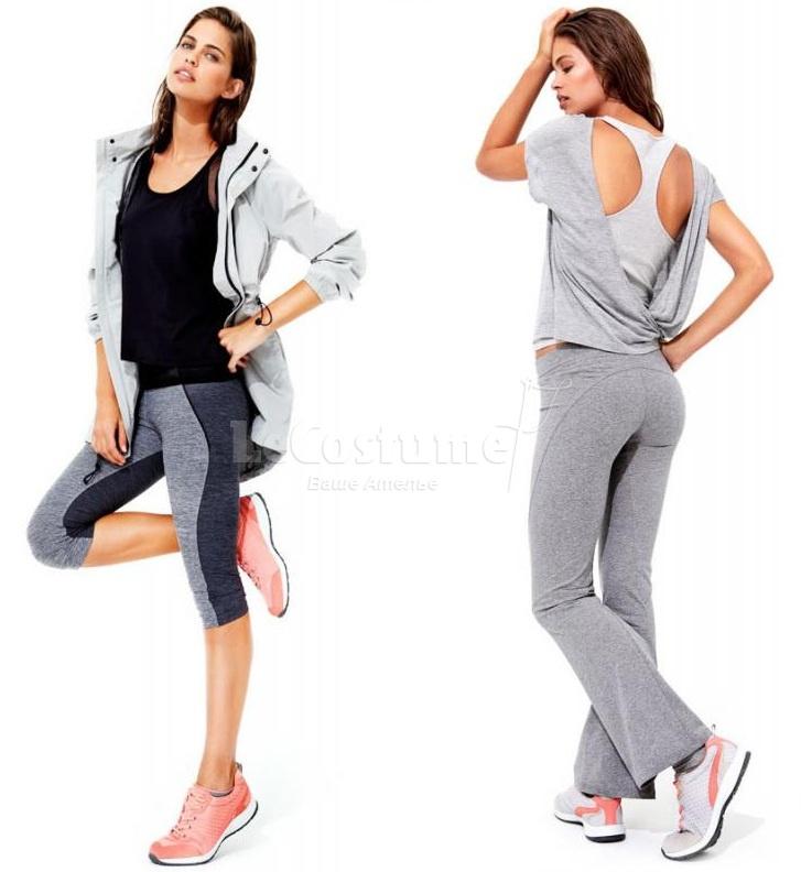 Спортивная одежда вне спорта