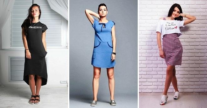 Спортивные платья – какие бывают и с чем их носить