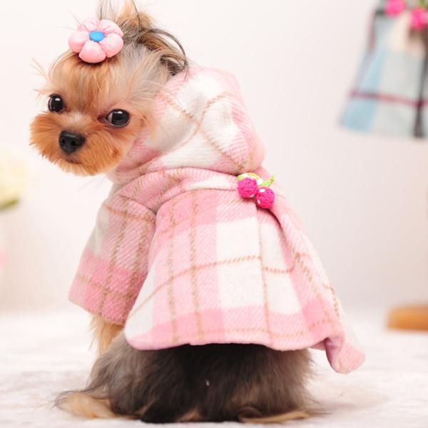 Теплое пальто для животного