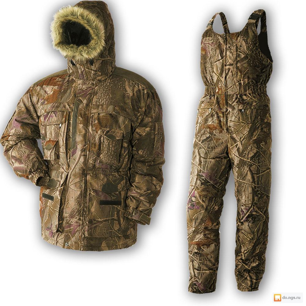 Теплый зимний костюм для отдыха и охоты