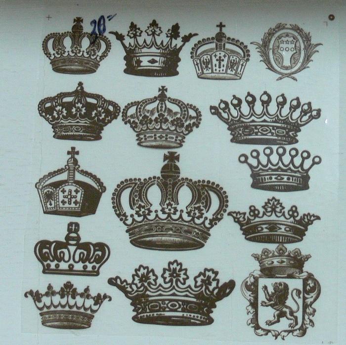 Термонаклейки Короны