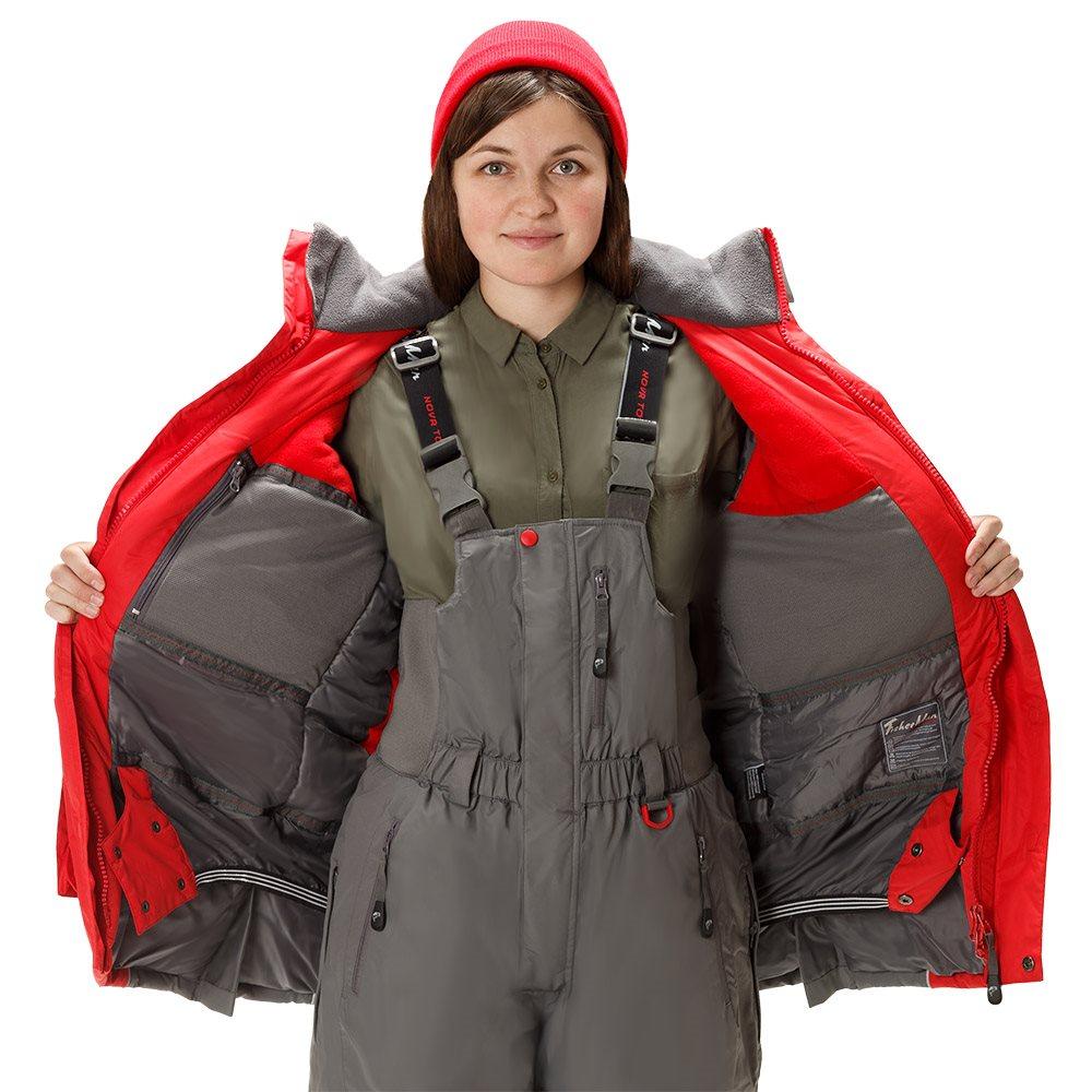 Тёплый и лёгкий зимний костюм