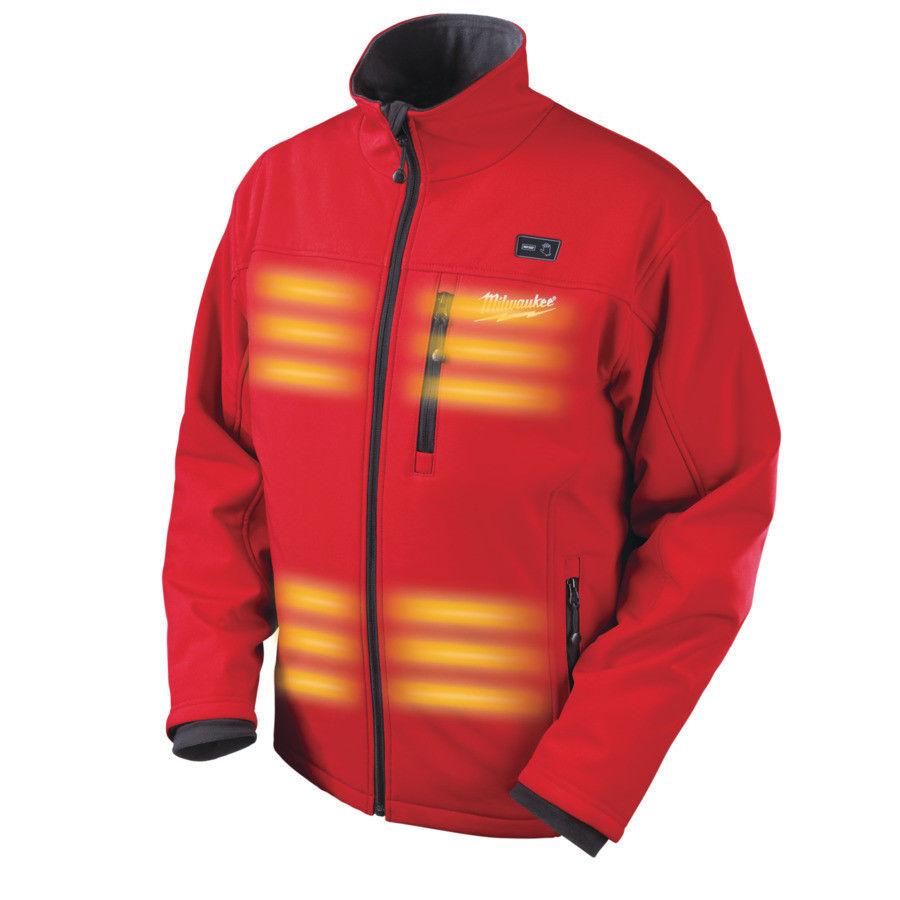 Вариант куртки с подогревом