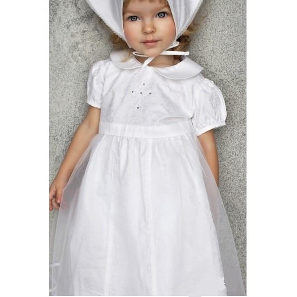 Вариант нарядного белого платья
