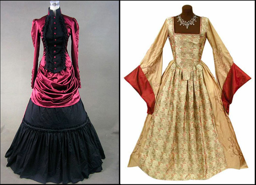 Варианты современного оформления старых стилей одежды