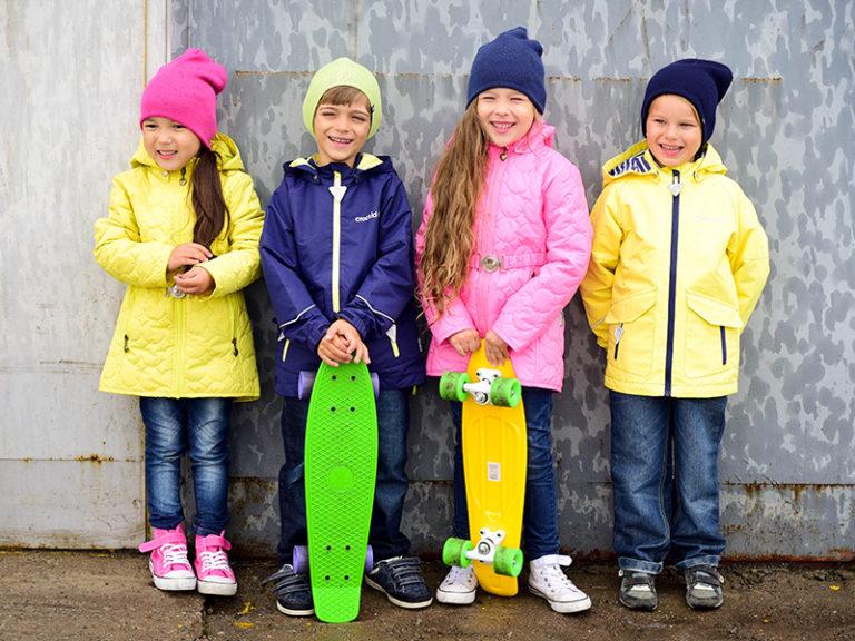 Весенние детские комплекты одежды
