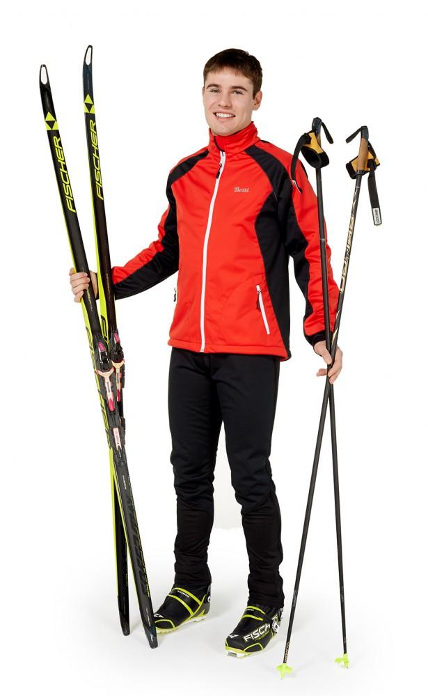 Все зимние лыжные костюмы разделяют на разминочные и костюмы для прогулок