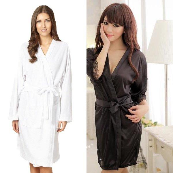 Выбираем модный женский халат