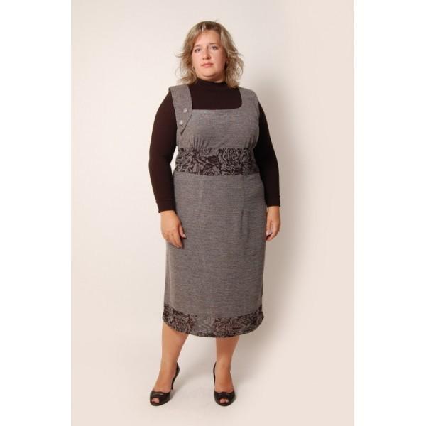 Выбор серого платья