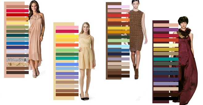 Выбор тона летней одежды