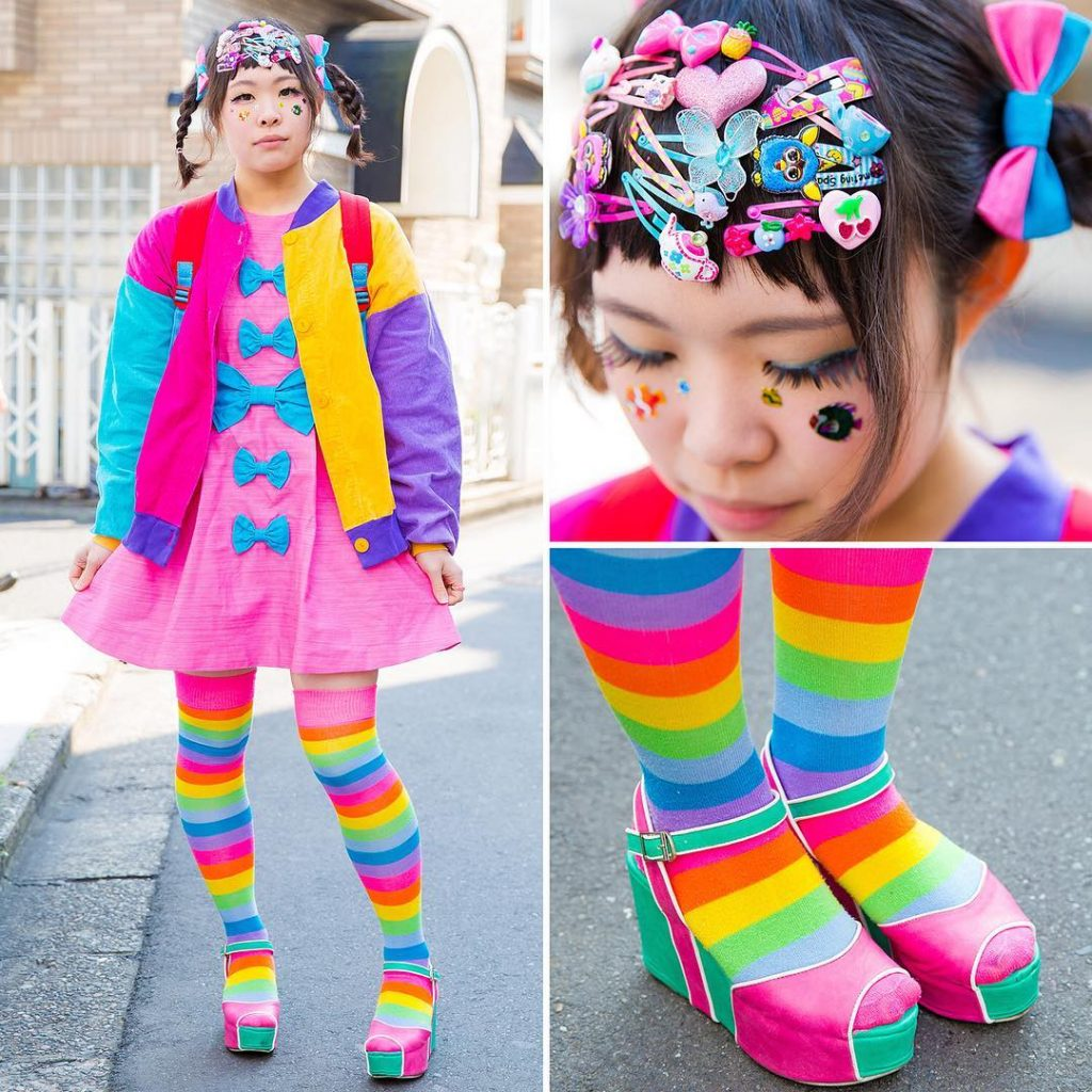 Японская мода - декора