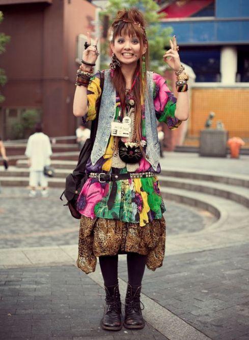 Японский street styl