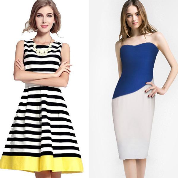 Яркие платья для девушек