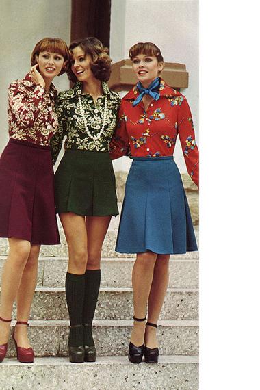 Яркие юбки для девушек
