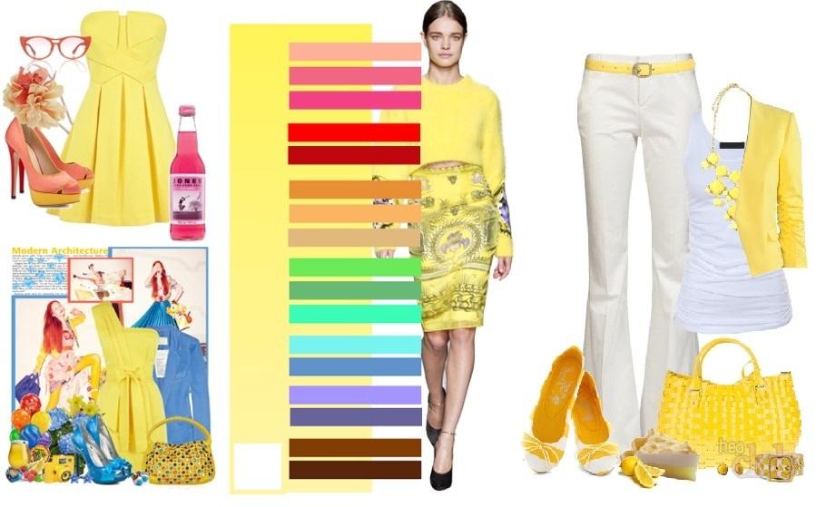 Желтый в гардеробе
